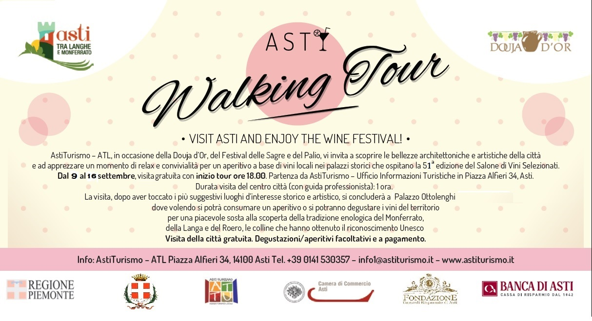 Walking Tour Asti